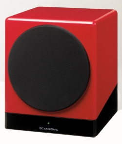 SCANSONIC S12 SUB ACTIVE Red