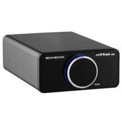 SCANSONIC A200 Amplifier Black