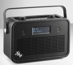 SCANSONIC SKY FM Radio Black