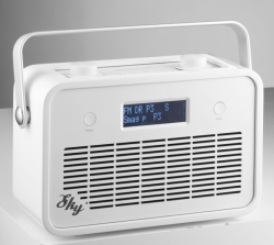 SCANSONIC SKY FM Radio White